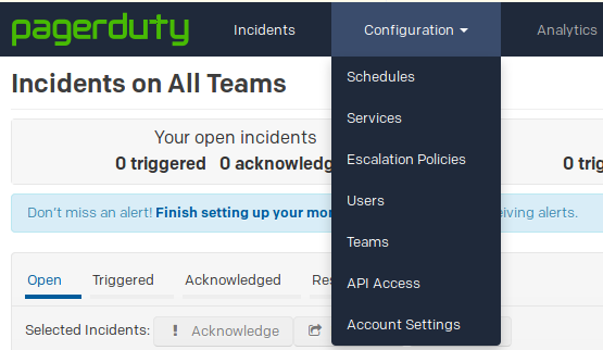 pagerduty-configuration-pull-down