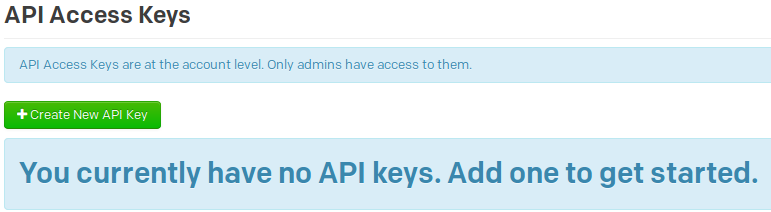 pagerduty-create-new-api-key