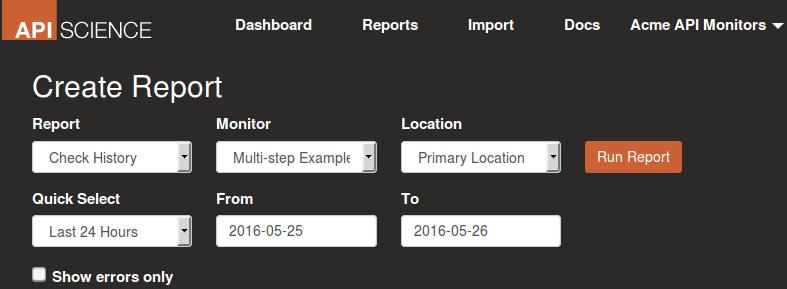create-report