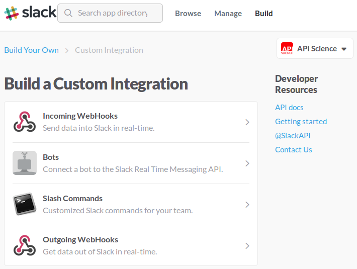 slack-custom-integration