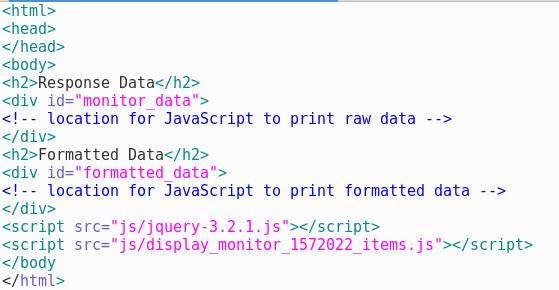 Creating Custom Consoles Using API Monitor Data – API